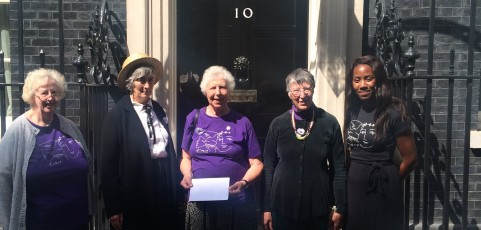 The centenary of women's protest against war