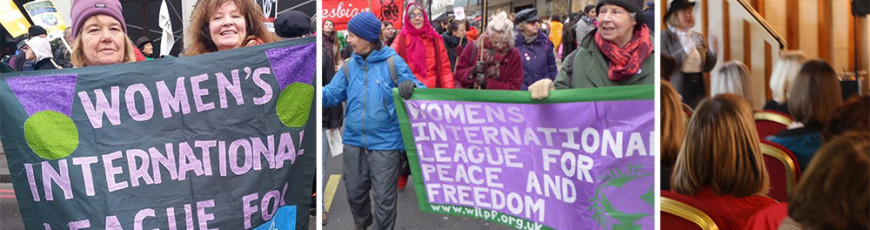 WILPF in action in 2016!